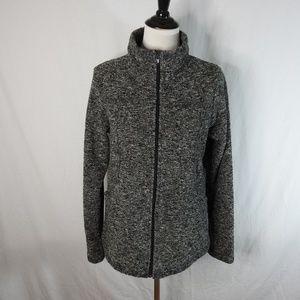 PrAna Zip Up Knit Jacket Size X-Large
